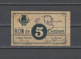 FRANCE. Jetons  Union Des Commerçants De TOULOUSE - Monétaires / De Nécessité