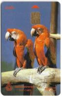 Thailand - TOT (Chip) - Parrots, Exp. 11.2003, 100฿, Used - Tailandia