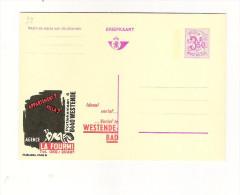 Publibel Neuve N° 2546 (Agence LA FOURMI  Westende-bad) - Stamped Stationery
