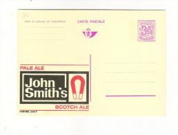 Publibel Neuve N° 2548 (Bier; Bière; Piwo: Pale Ale John Smith's; Aimant, Magnètisme) - Stamped Stationery