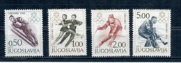 OLIMPIADI GRENOBLE 1968 - JUGOSLAVIA - SERIE COMPLETA MNH ** - Inverno1968: Grenoble