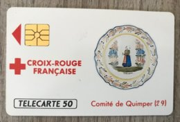 CROICX-ROUGE2 - Quimper - Très Bon état - 1989