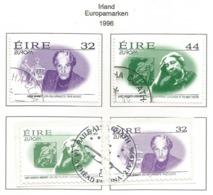 Irland / Eire 1996  Mi.Nr. 940 / 943 , EUROPA CEPT - Berühmte Frauen - Gestempelt / Fine Used / (o) - 1996