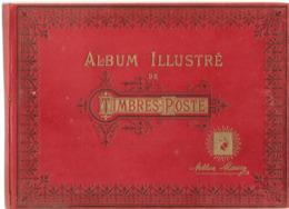 Maury Album Illustré De Timbre Poste 1927 - Albums & Reliures