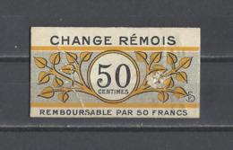 FRANCE. Jetons  Change Rémois  REIMS - Monétaires / De Nécessité