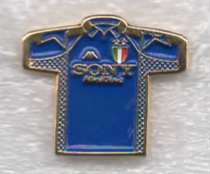 Juventus Torino Calcio Maglietta Danone T-Shirt Sony Ufficiale Giemme Torino Juve Soccer Pins Spilla Italy Toro Granata - Calcio
