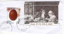 Polen Briefstück Mit 10 Zt Swift And Stella + 6 Zł 2019 - Used Stamps