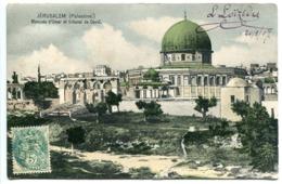 CPA 1907 PALESTINE ISRAËL Mosquée D'Omar Et Tribunal De David - Bon état - Israel