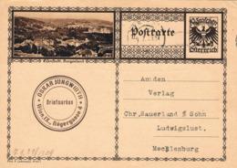 Österreich Bildpostkarte Eisenstadt 1929 - Entiers Postaux