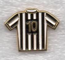 Juventus Torino Calcio Maglietta 10 T-Shirt Ufficiale Giemme Torino Juve Soccer Pins Spilla Italy - Calcio