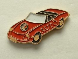 PIN'S AUTOMOBILE LECLERC AUTO - Ferrari