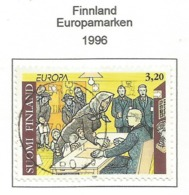 Finnland / Suomi Finland  1996  Mi.Nr. 1333 , EUROPA CEPT - Berühmte Frauen - Gestempelt / Fine Used / (o) - 1996