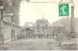 CPA - Blangy Sur Bresle - La Verrerie Sortie Des Ouvriers - - Blangy-sur-Bresle