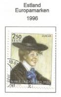 Estland / Eesti  1996  Mi.Nr. 279 , EUROPA CEPT - Berühmte Frauen - Gestempelt / Fine Used / (o) - 1996