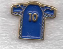 Juventus Torino Calcio Maglietta N.10 T-Shirt Ufficiale Giemme Juve Torino Soccer Pins Spilla Italy - Calcio