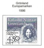 Grönland 1996  Mi.Nr. 293 , EUROPA CEPT - Berühmte Frauen - Gestempelt / Fine Used / (o) - 1996