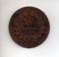 MON1 : Monnaie Coin 5 Centimes 1876 A - Francia