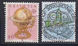 Europa Cept 1983 Switzerland 2v Used (44628) - 1983