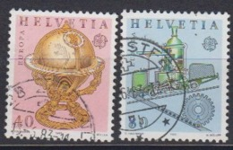 Europa Cept 1983 Switzerland 2v Used (44628A) - 1983