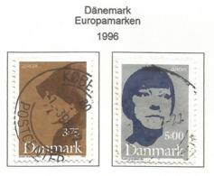 Dänemark / Danmark  1996  Mi.Nr. 1124 / 1125 , EUROPA CEPT - Berühmte Frauen - Gestempelt / Fine Used / (o) - 1996