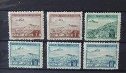 Albanie - 1950 - Poste Aérienne N°45 - 47 - 48 - Tous ** - Cote : 35 Euros - Albania