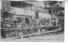 Marine Française  Carénage D'un Bateau - Warships