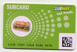 GC 10186 Subway - Gift Cards