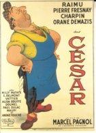 Série De 7 Repro D'affiches De Films De Marcel Pagnol, Illustrations De Albert Dubout. Couleurs,  TB état. 7 Scan. - Dubout