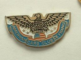PIN'S AUTOMOBILE - AMERICAN CARS CLUB DE FRANCE - Autres