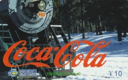 CHINA. PUZZLE. COCA COLA, TRENES - COCA COLA, TRAINS. XSBN2005-617(4-4). (132). - Rompecabezas