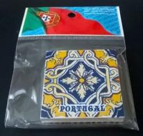 Portugal Magnet Azulejo Carreau Céramique Motifs Traditionnels - Magnets