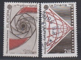 Europa Cept 1983 France 2v Used (44629) - 1983