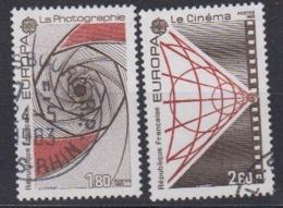 Europa Cept 1983 France 2v Used (44629B) - 1983