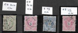 1530g: Österreich 1883 Kleinwerte Nach Zähnungen Sortiert - 1850-1918 Imperium