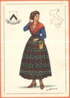 TEMATICA - Folklore - Costumi - Friuli Venezia Giulia - Not Used - Costumi