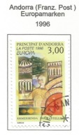 Andorra ( Französische Post )  1996  Mi.Nr. 497 , EUROPA CEPT Berühmte Frauen - Gestempelt / Fine Used / (o) - 1996