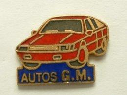 PIN'S AUTOMOBILE - AUTOS G.M - Autres