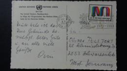United Nations - New York - 1972 - Mi:NT-NY 248, Sn:NT-NY C18, Yt:NT-NY PA18 On Postcard - Look Scans - Briefe U. Dokumente