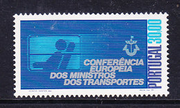 Portugal 1983 Meeting European Ministers Of Transport 1v ** Mnh (44630B) - Europese Gedachte