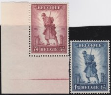 Belgie    .    OBP   .  351/352  (2 Scans)   .  **  .    Postfris ZONDER  Charnier    .  / .  Neuf SANS  Charniere - Belgique