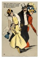 CPA.cabaret,prostitution.prostitute.femmes Prostituées.demi-montaines    .E.72 - Humour