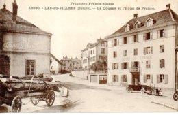 CPA - Lac De Villers - La Douane Et L'hotel De France - Francia