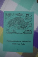 Aalst Brochure Numismatische En Filatelische Studie Van Aalst 1982 - Documents Historiques
