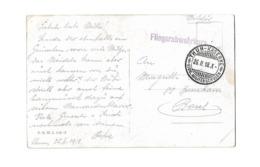 CACHET FLIEGERABWEHRKURS + THUN KASERNE MILITARSCHULEN SUISSE AVIATION BALLON /FREE SHIPPING REGISTERED - Poststempel