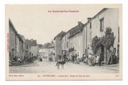 CPA 70  VAUVILLERS Grande Rue Route Du Pont Du Bois - Autres Communes