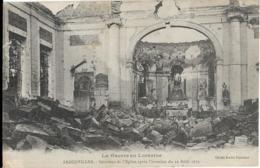 D54 - BADONVILLER - INTERIEUR DE L'EGLISE APRES L'INVASION  DU 12 AOÛT 1914 - LA GUERRE DE LORRAINE - France