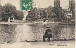 D93 - LE RAINCY - LA PIECE D'EAU - Homme Assis Sur Une Chaise Au Bord De L'eau - Le Raincy