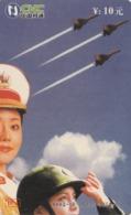 CHINA. PUZZLE. MUJERES MILITARES - MILITARY WOMEN. AHAQ-IP-2003-P38(4-2). (119). - Rompecabezas