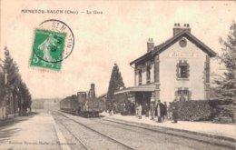 18 MENETOU SALON La Gare - Frankreich
