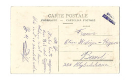 CACHET BALLON KOMPAGNIE SUISSE AVIATION BALLON /FREE SHIPPING REGISTERED - Marcofilie